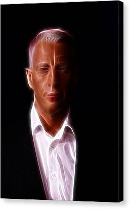 Autographed Art Canvas Print - Anderson Cooper - Cnn - Anchor - News by Lee Dos Santos