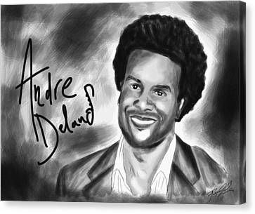 Andre Delano Canvas Print by Kenal Louis