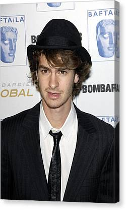 Andrew Garfield At Arrivals For 17th Canvas Print
