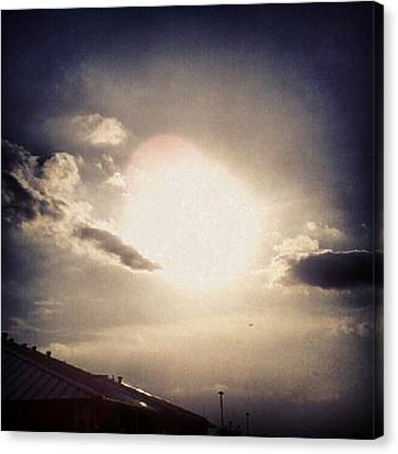 #andrography #nexuss #random #sun Canvas Print by Kel Hill