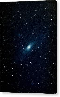 Andromeda Galaxy (m31, Ngc 224) Canvas Print by John Sanford