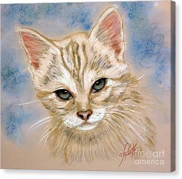 Angel # 9 Canvas Print by Toneeke Runinwater - Henderson