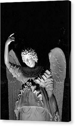 Angel Canvas Print by Bonnie Myszka