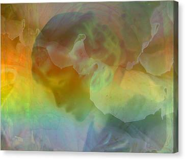 Angel In My Dreams Canvas Print by Shirley Sirois
