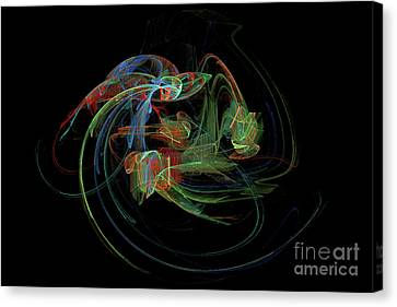 Angel Looking Down Canvas Print by Gary Moland