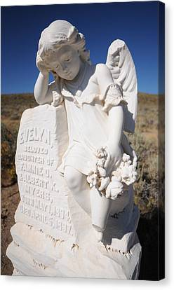 Angel Of Bodie Canvas Print by Earl Bowser