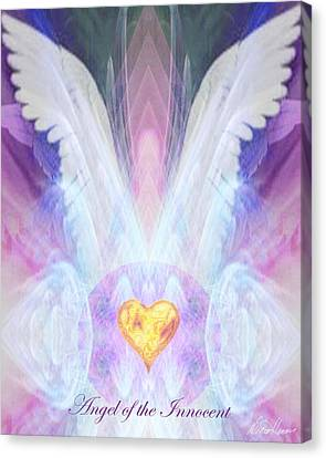 Angel Of The Innocent Canvas Print