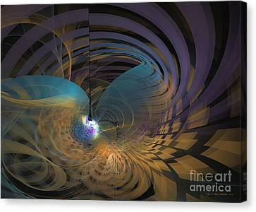 Angel Of The Subconscious Canvas Print