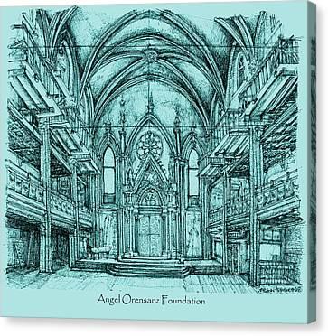 Angel Vizcaya Foundation Venue In Nyc Canvas Print