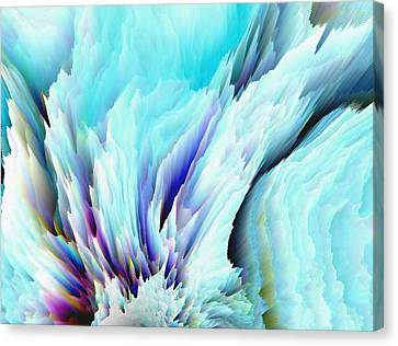 Angel Wings And Heaven Canvas Print by Sherri's Of Palm Springs