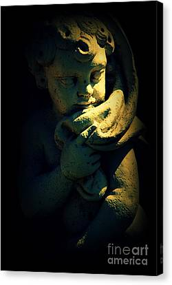 Angela Canvas Print by Susanne Van Hulst