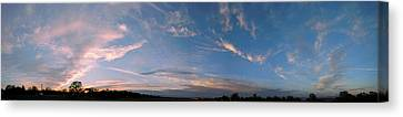 Angelic Clouds Canvas Print