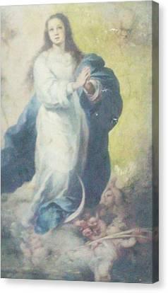 Angelic Mary  Canvas Print