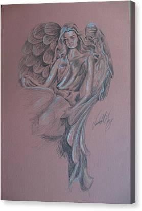 Angelica Canvas Print by Vanderbill King