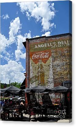 Angell's Deli Canvas Print by Anjanette Douglas