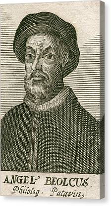 Angelo Beolco 1502-1542, Venetian Actor Canvas Print by Everett