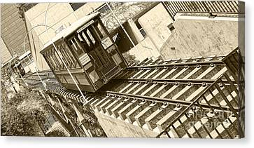 Angels Flight Canvas Print by Jason Abando