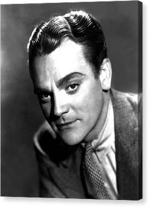 Angels With Dirty Faces, James Cagney Canvas Print by Everett
