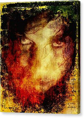 Anger Canvas Print by Gun Legler
