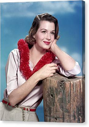 Angie Dickinson, Late 1950s Canvas Print by Everett
