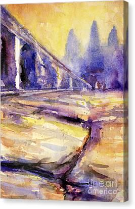 Angkor Wat Sunrise 3 Canvas Print