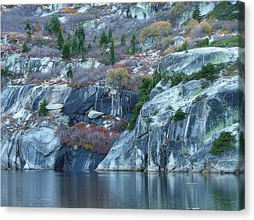 Angora Lake Canvas Print by From Gods Porch Photography