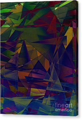 Angst Canvas Print by Michelle Bergersen