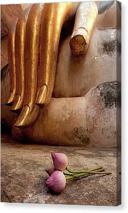 Anicient City: Sukhothai, Thailand Canvas Print by Nobythai
