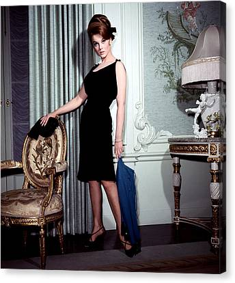 Ann-margret, In French Drawing Room Canvas Print by Everett
