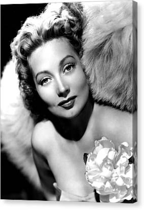 Ann Sothern, Publicity Shot Canvas Print by Everett