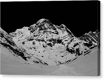 Annapurna South Canvas Print by Matthias Siewert