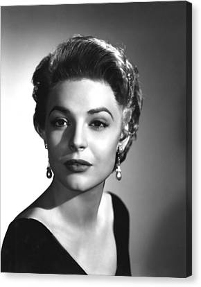 Anne Bancroft, Columbia Pictures, 1955 Canvas Print by Everett