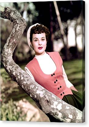 Anne Of The Indies, Jean Peters, 1951 Canvas Print by Everett