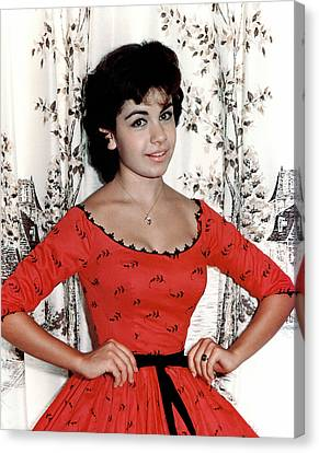 Annette Funicello, 1950s Canvas Print by Everett