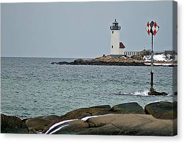 Annisquam Lighthouse Canvas Print