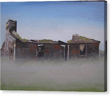 Another Abandoned Croft Canvas Print