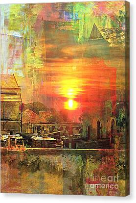 Experience Canvas Print - Another Day In Poverty by Fania Simon