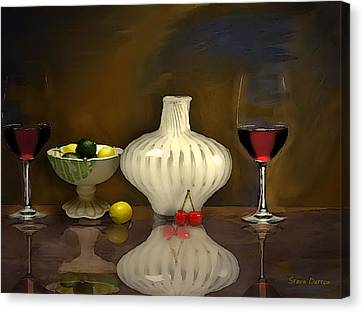 Another Still Life Canvas Print by Stevn Dutton