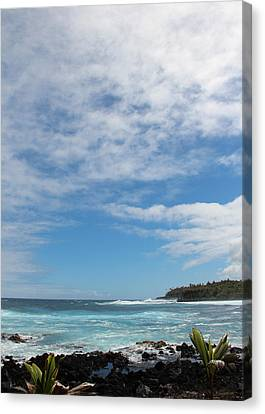 Canvas Print featuring the photograph Another Sunny Sunday In Hawaii by Kerri Ligatich
