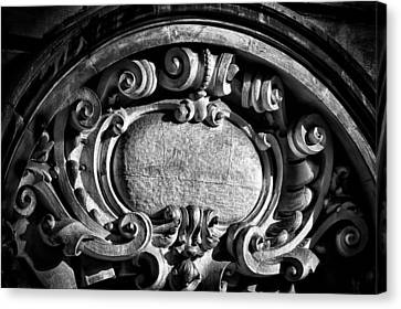 Ansonia Building Detail 14 Canvas Print by Val Black Russian Tourchin