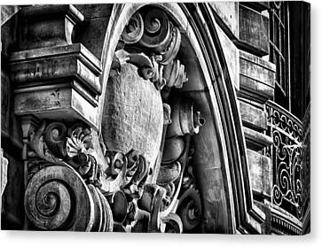 Ansonia Building Detail 19 Canvas Print by Val Black Russian Tourchin