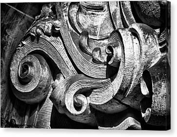 Ansonia Building Detail 23 Canvas Print by Val Black Russian Tourchin