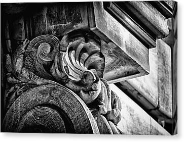 Ansonia Building Detail 24 Canvas Print by Val Black Russian Tourchin