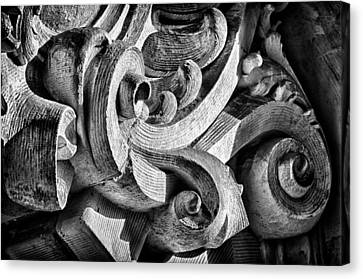 Ansonia Building Detail 25 Canvas Print by Val Black Russian Tourchin