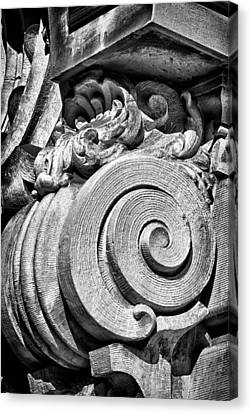 Ansonia Building Detail 29 Canvas Print by Val Black Russian Tourchin
