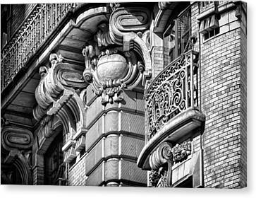 Ansonia Building Detail 37 Canvas Print by Val Black Russian Tourchin