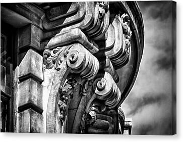 Ansonia Building Detail 38 Canvas Print by Val Black Russian Tourchin