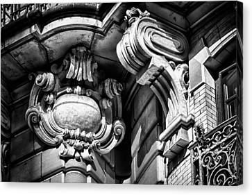 Ansonia Building Detail 39 Canvas Print by Val Black Russian Tourchin
