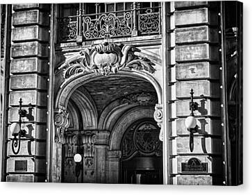 Ansonia Building Detail 4 Canvas Print by Val Black Russian Tourchin