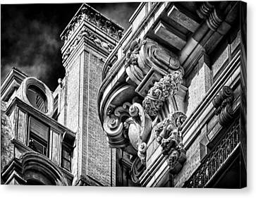 Ansonia Building Detail 41 Canvas Print by Val Black Russian Tourchin